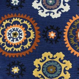 Tissu Boukhara Allover Suzani azur x 36cm