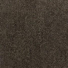 Simili cuir Bubbles Noir x 10cm