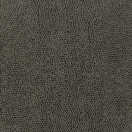 Imitation leather Bubbles - steel x 10cm