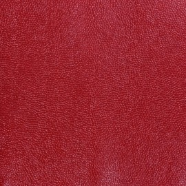 Imitation leather Bubbles - red x 10cm