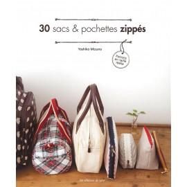 """Livre """"30 sacs & pochettes zippés"""""""