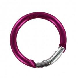 round carabiner - fuchsia