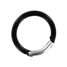round carabiner - black