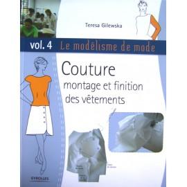 Modélisme de mode - Couture montage et finition des vêtements