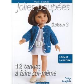 """Livre """"Jolies poupées saison 2"""""""