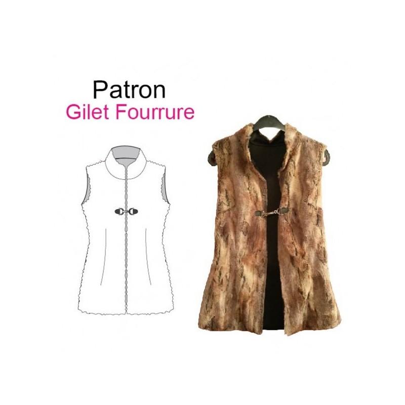 Tuto couture veste sans manche femme – Vestes élégantes populaires 32a3de3b75c