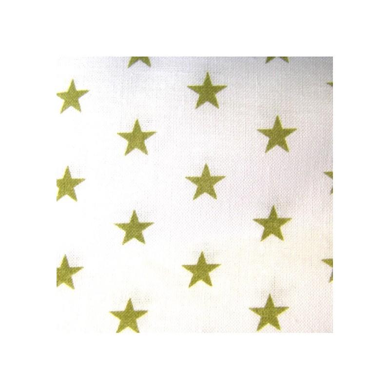 tissu toiles olive blanc x10cm ma petite mercerie. Black Bedroom Furniture Sets. Home Design Ideas