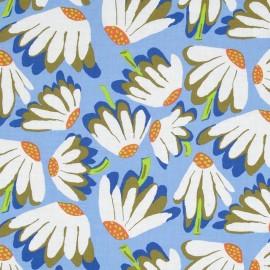 Tissu Spring 2014 - Lazy Daisy Blue x 10cm