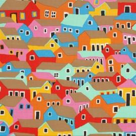 Tissu Spring 2014 - Shanty Town Bright x 10cm