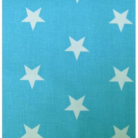 Grandes étoiles turquoises