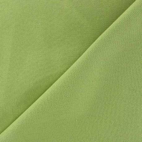 Tissu toile de coton uni canevas vert lime x 10cm ma petite mercerie - Toile de coton synonyme ...