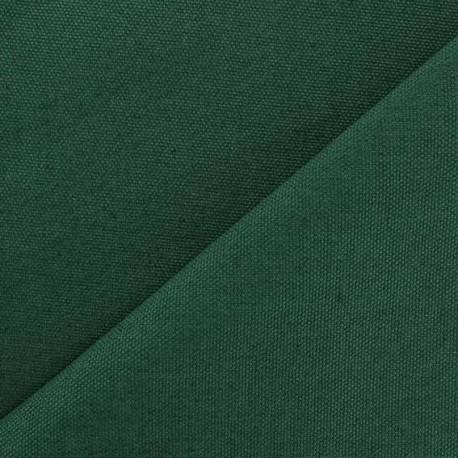 tissu toile de coton uni canevas vert prairie x 10cm ma petite mercerie. Black Bedroom Furniture Sets. Home Design Ideas