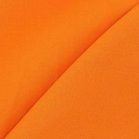 Tissu toile de coton uni CANEVAS V2 Carotte x 10cm