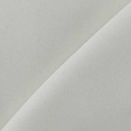Tissu toile de coton uni CANEVAS Ecru x 10cm