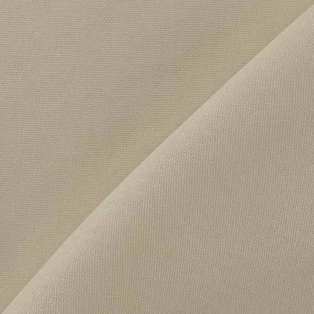 Tissu toile de coton uni CANEVAS V2 Sable