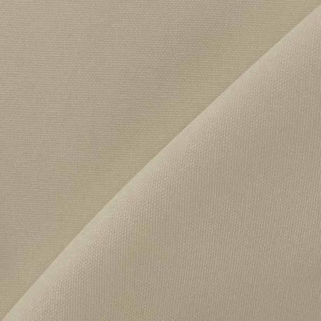 Tissu toile de coton uni CANEVAS V2 Sable x 10cm