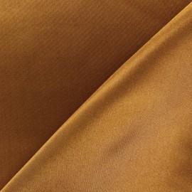 Tissu doublure rouille x 10cm