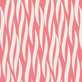 Tissu coton Iconic - Rose x 10 cm