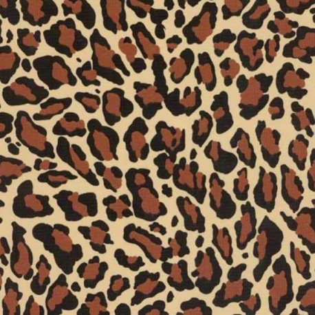 Oilcloth Fabric - Jaguard x 10cm