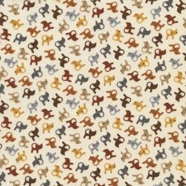 Tissu Mini Series Cat Cream x 10cm