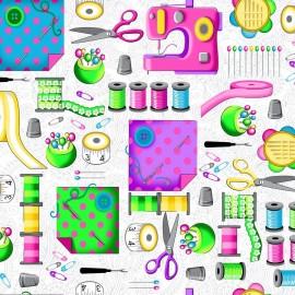 Tissu Seams Like Fun - Everything Sewing x 30cm