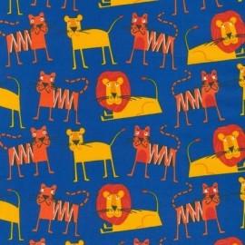 Tissu Jungle Party A - Bright x 10cm