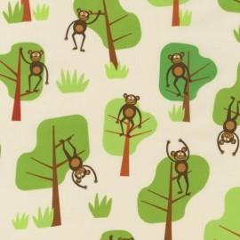 Tissu Jungle Party D - Bermuda x 10cm