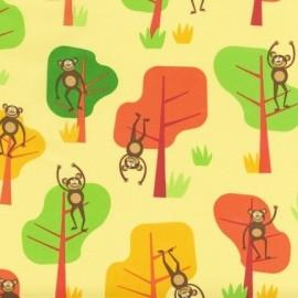 Tissu Jungle Party D - Bright x 10cm