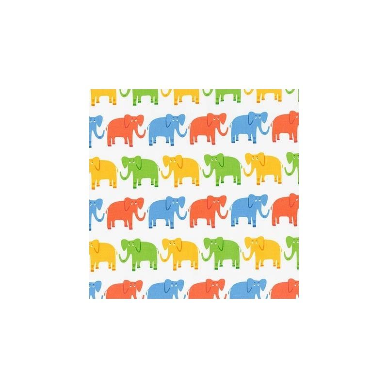 Tissus pas cher 100 coton tissu jungle party e bright for Bright childrens fabric