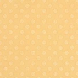Tissu Spot On Pearl - ButterCup x 10cm