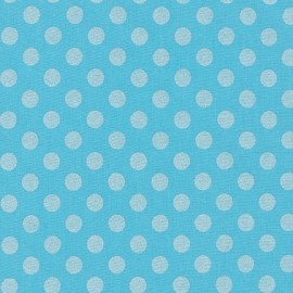 Tissu Spot On Pearl - Gopen x 10cm
