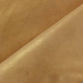 Simili cuir Baroque floqué velours noir x 10cm