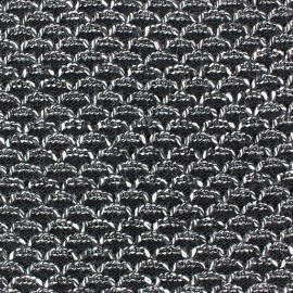 Stitch Lisette mool fabric - black flecked x 10cm