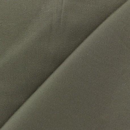 Satiny Lycra Gabardine Fabric - Havana x 10cm