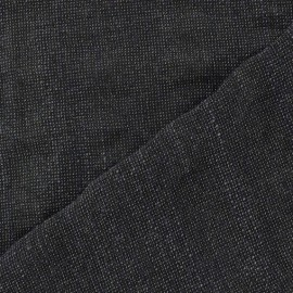 Toren A light wool fabric - night blue aspect Chambray x 10cm