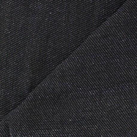 Tissu Lainage léger Toren B Bleu Jean aspect Chambray  x 10cm