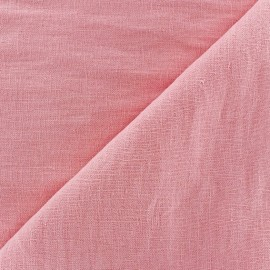 ♥ Only one piece 170 cm X 140 cm ♥ Linen Fabric - Dragée Pink