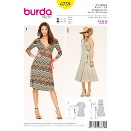 Patron Robe Burda n°6759