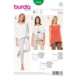 Patron Blouse Burda n°6762