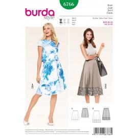 Patron Jupe Burda n°6766