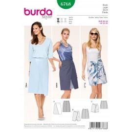 Patron Jupe Burda n°6768