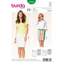 Patron Jupe Burda n°6769