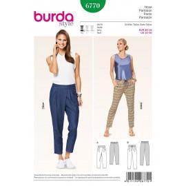 Pants Sewing Pattern Burda n°6770