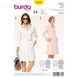 Patron Pantalon Burda n°6772