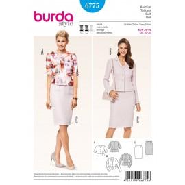 Patron Cordonnés Burda n°6775
