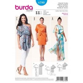 Patron Robe & Tunique Burda n°6780