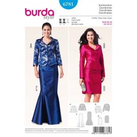 Patron Robe & Tunique Burda n°6781