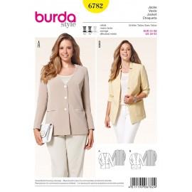 Patron Coordonnés Burda n°6782
