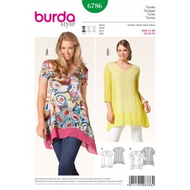 Patron Tunique Burda n°6786