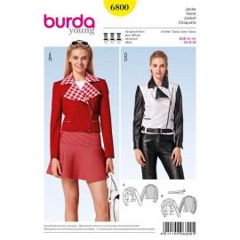 Patron Veste Burda n°6800